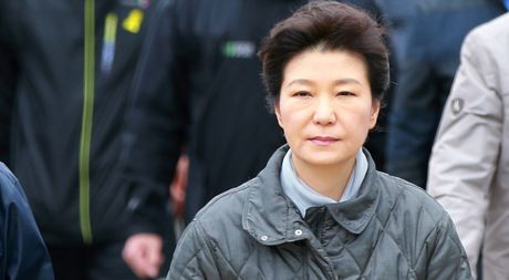 Tong thong Han Quoc Park Geun-hye bi tham van - Anh 1