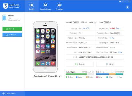 3uTools - cong cu thay the iTools cho cac thiet bi cua Apple - Anh 4
