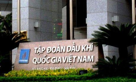 PVN 'nop thieu' 550 ty dong tien thue cua nam 2015 - Anh 1
