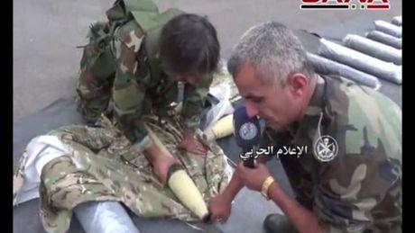 Quan doi Syria triet ha toan thanh chien ngam o Hama (video) - Anh 1