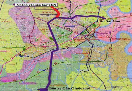 TPHCM: Noi tuyen metro vao san bay Tan Son Nhat - Anh 1