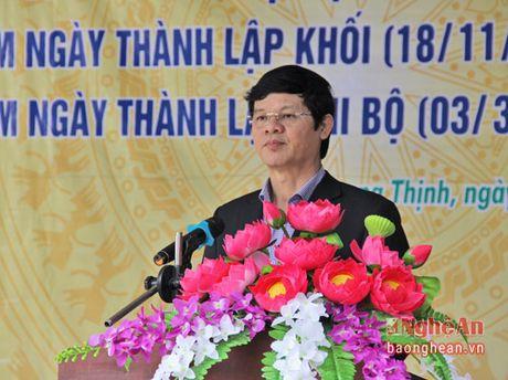 Pho Chu tich UBND tinh Le Xuan Dai du ngay hoi Dai doan ket o TX Thai Hoa - Anh 2