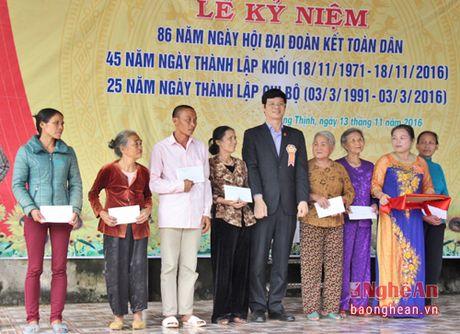 Pho Chu tich UBND tinh Le Xuan Dai du ngay hoi Dai doan ket o TX Thai Hoa - Anh 3