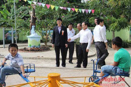 Pho Chu tich UBND tinh Le Xuan Dai du ngay hoi Dai doan ket o TX Thai Hoa - Anh 5