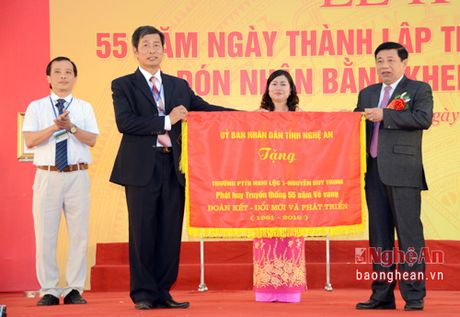Pho Thu tuong Vuong Dinh Hue du le ky niem 55 nam thanh lap Truong Nguyen Duy Trinh - Anh 6