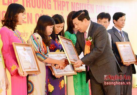 Pho Thu tuong Vuong Dinh Hue du le ky niem 55 nam thanh lap Truong Nguyen Duy Trinh - Anh 9