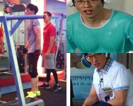 Fan dien dao truoc body 'hoan hao' cua ba anh em Kwang-Yoo-Kook nha Running Man - Anh 7