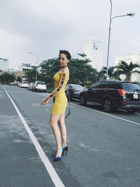 Bao Thy - Toc Tien cung phai say me chiec vay nay! - Anh 7