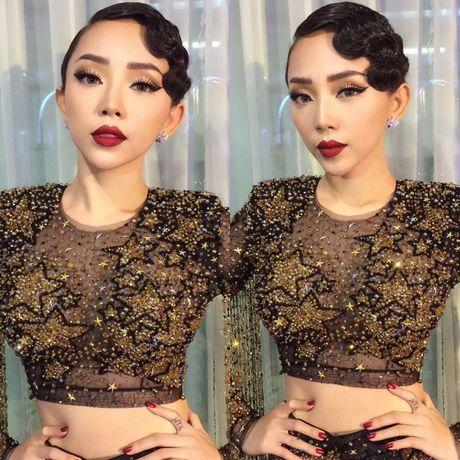Toc Tien xuat hien cung mai toc doc la tren san khau concert Noo Phuoc Thinh - Anh 15