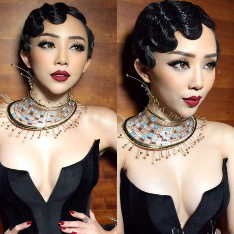Toc Tien xuat hien cung mai toc doc la tren san khau concert Noo Phuoc Thinh - Anh 16