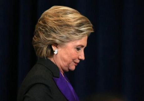 Ba Clinton 'dau long' vi that bai - Anh 1