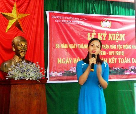 Ngay hoi dai doan ket KDC Huong Son (Quang Nam) - Anh 2