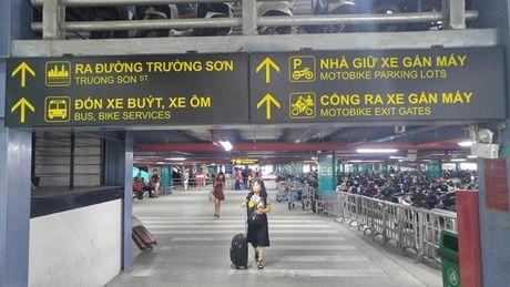 Nha de xe '5 sao' o san bay Tan Son Nhat - Anh 4