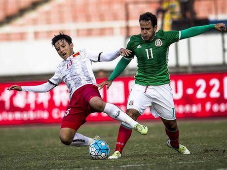 U22 Viet Nam thua Uzbekistan 1-3, tan mong vo dich giai tap huan - Anh 1