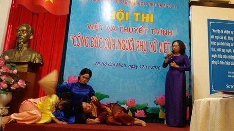 Bao tang Phu nu Nam Bo: To chuc vong chung ket cuoc thi 'Cong duc cua nguoi phu nu Viet Nam' - Anh 6