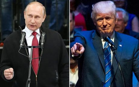 Tong thong Putin va ong Donald Trump co lap truong giong nhau - Anh 1