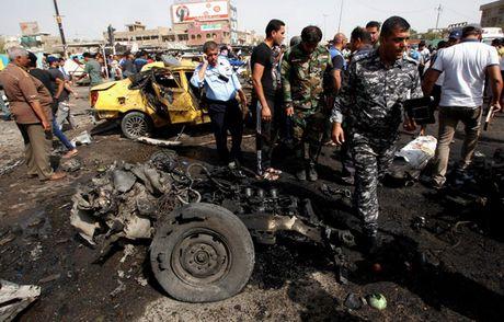 Danh bom lieu chet o phia Nam Baghdad, 8 nguoi thiet mang - Anh 1