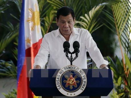 Tong thong Duterte se bo qua van de nhan quyen neu IS xuat hien - Anh 1