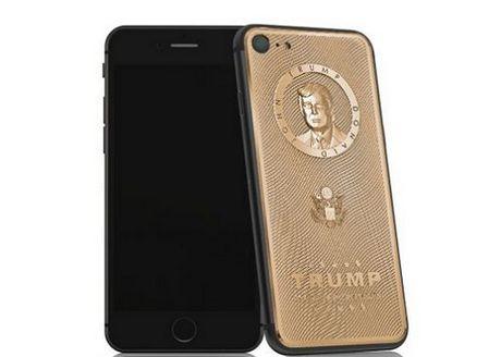 iPhone ma vang khac hinh Donald Trump, gia cao - Anh 2