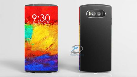 Samsung Galaxy S8 man hinh tran canh dep me hon - Anh 1