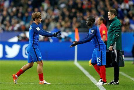 Atletico don tin vui tu Griezmann truoc tran derby Madrid - Anh 1
