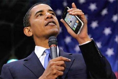 Vi sao iPhone 'khong co cua' voi Tong thong My Obama? - Anh 1