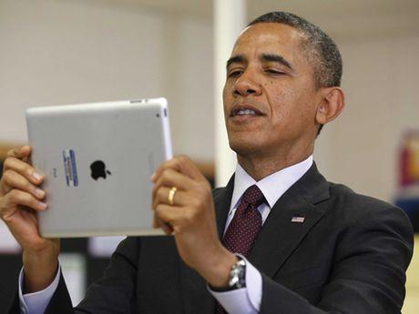 Vi sao iPhone 'khong co cua' voi Tong thong My Obama? - Anh 2