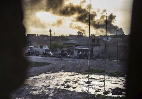 Dac nhiem Iraq danh IS trong thanh pho Mosul - Anh 1
