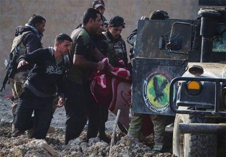 Dac nhiem Iraq danh IS trong thanh pho Mosul - Anh 2
