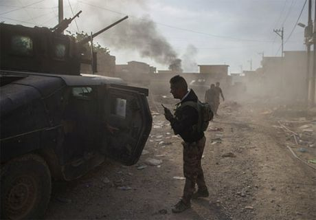 Dac nhiem Iraq danh IS trong thanh pho Mosul - Anh 4