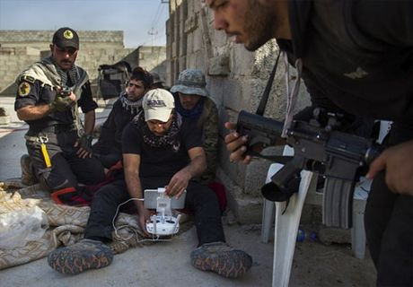 Dac nhiem Iraq danh IS trong thanh pho Mosul - Anh 5