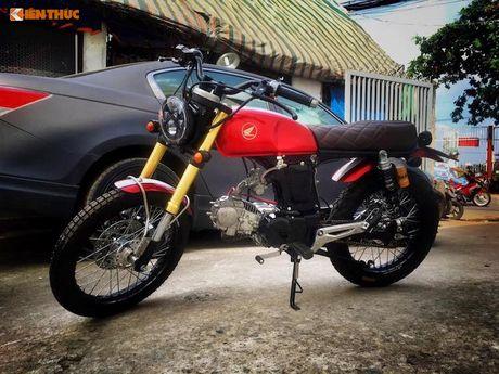 'Xe no' Honda 67 do Scrambler ca tinh tai Sai Gon - Anh 1