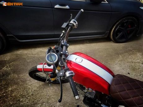 'Xe no' Honda 67 do Scrambler ca tinh tai Sai Gon - Anh 3