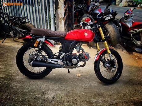 'Xe no' Honda 67 do Scrambler ca tinh tai Sai Gon - Anh 4