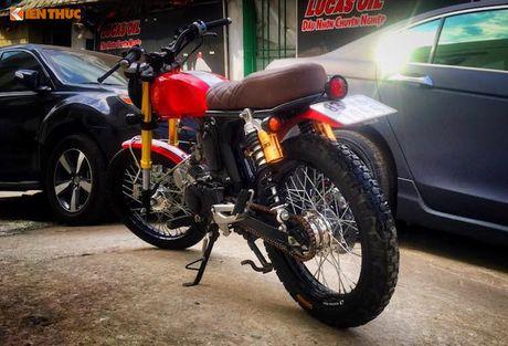 'Xe no' Honda 67 do Scrambler ca tinh tai Sai Gon - Anh 6
