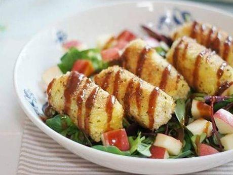Cach lam mon salad khoai tay ngon, la mieng - Anh 7