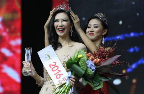 Nhan sac Hoa hau Hoan vu Trung Quoc 2016 bi che gia - Anh 1