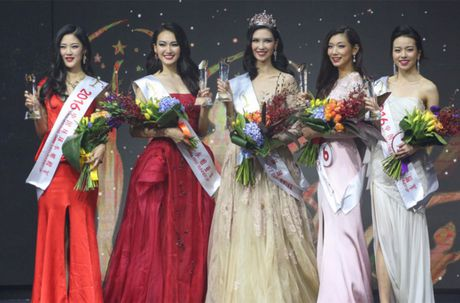 Nhan sac Hoa hau Hoan vu Trung Quoc 2016 bi che gia - Anh 2