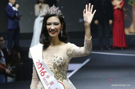 Nhan sac Hoa hau Hoan vu Trung Quoc 2016 bi che gia - Anh 3
