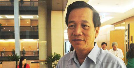 Bo truong Dao Ngoc Dung: Thiet lap lai trat tu tai co so cai nghien - Anh 1