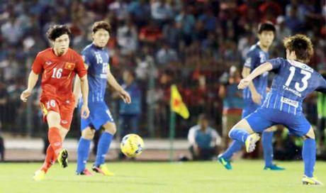 DT Viet Nam hoa 0-0 voi CLB Avispa Fukuoka: HLV Huu Thang tho phao - Anh 1
