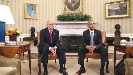 Ong Obama tran an the gioi ve ong Trump - Anh 1