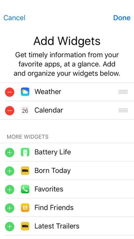 Apple iOS 10 - ban nang cap tu iOS 9 - Anh 9