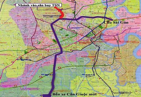TP.HCM de xuat noi tuyen metro vao san bay Tan Son Nhat - Anh 1
