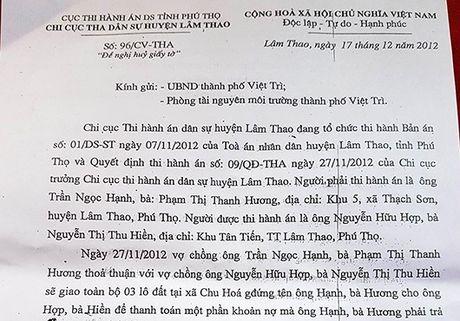 Thanh pho Viet Tri – Phu Tho: Nguoi dan 'moi mon' cho cap so do! - Anh 1