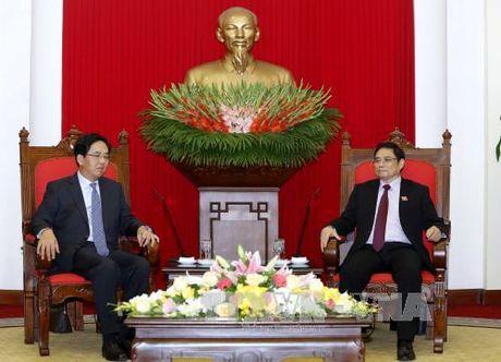 Truong Ban To chuc Trung uong Pham Minh Chinh tiep Dai su Trung Quoc - Anh 1
