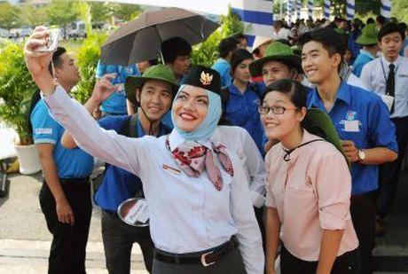 Viet Nam de lai an tuong dep cho cac ban tre Dong Nam A va Nhat Ban - Anh 1
