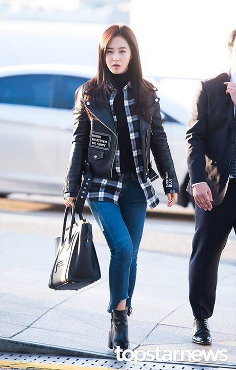 Yuri - Do Yeon so tai mix do khi dien cung mot chiec ao jacket - Anh 3