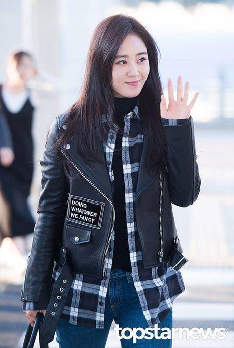 Yuri - Do Yeon so tai mix do khi dien cung mot chiec ao jacket - Anh 4