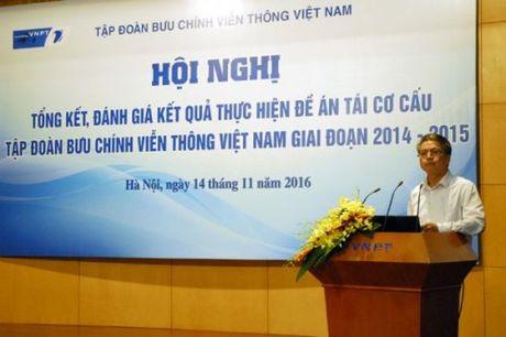 Sau tai co cau, VNPT chuyen manh sang phat trien dich vu CNTT - Anh 1
